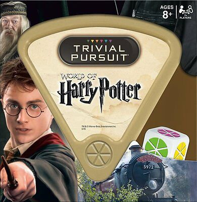 Wizarding World of Harry Potter Trivial Pursuit game
