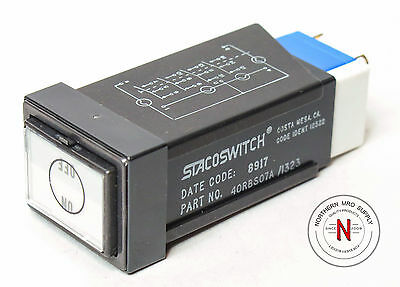 Stacoswitch 40Rbs07A/1323 Avionics Switch, New