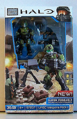 Mega Bloks HALO 97207 UNSC WEAPONS PACK II - 36 Pieces
