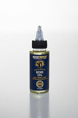 Music Nomad MN702 Bore Oil-100% Natural Oil, Petroleum Free
