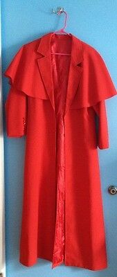 Alucard Duster Trench Red Coat Hellsing Ultimate Vampire Dracula Cosplay Costume