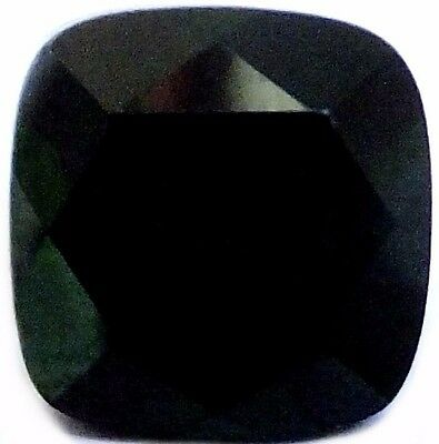 NATURAL DEEP CHROME GREEN DIOPSIDE LOOSE GEMSTONES (9.1 x 8.9 mm) CUSHION CUT