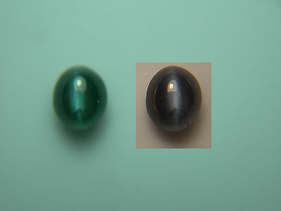 very rare Alexandrite Cat's Eye Cab NATURAL Gem Color Change Green Purple D24