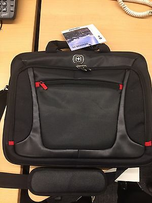 Black MacBook Laptop Computer Case Holder Travel Bag With Strap