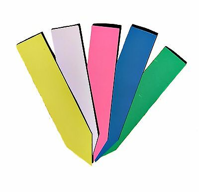 "TH Choice Multi Color 4"" Plastic Plant Stake Labels 50-100 pcs Nursery Marker"