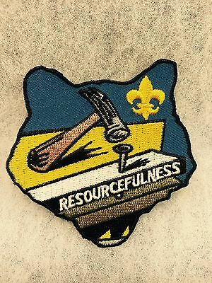"Boy Scouts - ""Resourcefulness"" Cub Scout activity patch"
