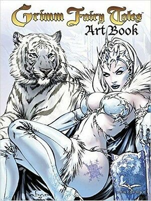 Grimm Fairy Tales Cover Art Book by Hardcover Book (English)