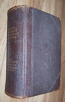 The New Warrens Household Mariners/Miners Physician Medical Book 1904