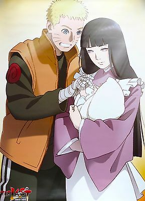 "THE LAST -NARUTO THE MOVIE- Paper poster 20"" x 28"" Hinata Boruto limited"