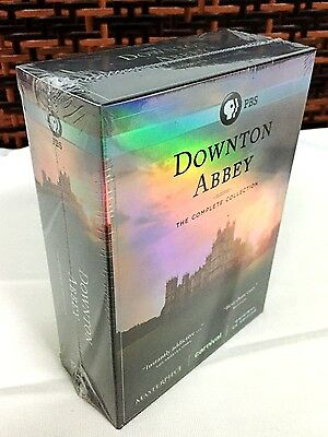 DOWNTON ABBEY: The Complete Collection Seasons 1-6 (DVD, 2016) 1 2 3 4 5 6 NEW!