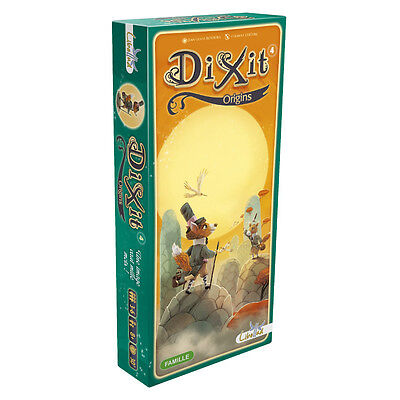 Dixit 4 Origins - Libellud - New Card Game