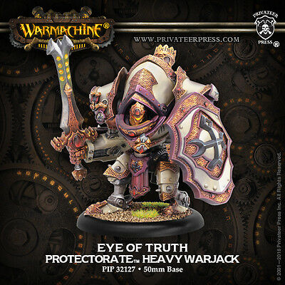 Warmachine Protectorate of Menoth Eye of Truth - Privateer Press - New Miniature