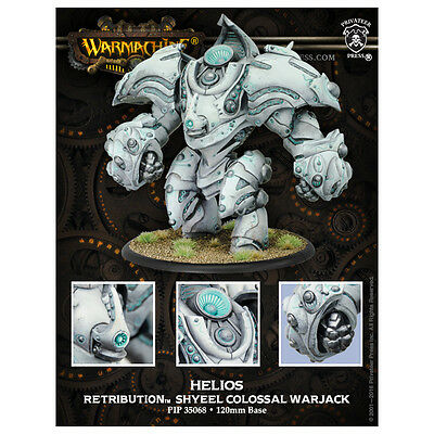 Warmachine Retribution of Scyrah Helios Hyperion - Privateer Press - New