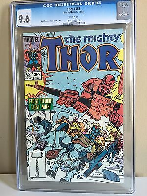 Thor 362 CGC 9.6 White Pages