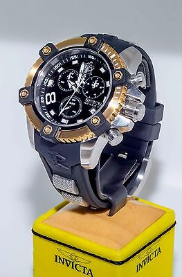 BRAND NEW Invicta Sea Base 17974 Mens 48mm Stainless Steel, Gold Quartz Watch