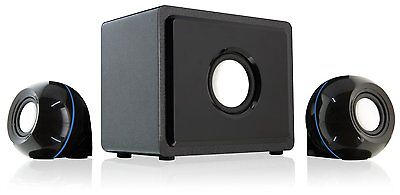 2.1 Channel Home Theater Speaker System TV Audio Movie Stereo Subwoofer Computer