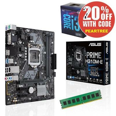 ASUS B250 Motherboard + Intel Core i5-7400 + 8GB RAM DIY Combo PC Upgrade Kit