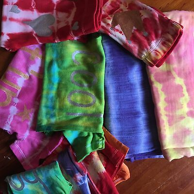 FINAL CLEARANCE Bulk Lot - Tie Dye Baby Clothing - Size 0 - 10 Items