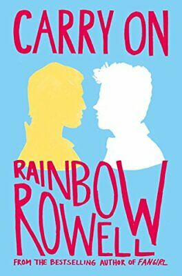 Carry On: The Rise and Fall of Simon Snow by Rowell, Rainbow Book The Cheap Fast