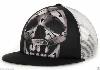 NIKE Shoes SKULL Action TRUCKER 6.0 SURF skate SNEAKERHEAD Snapback Cap HAT NEW