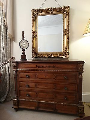 Fabulous Quality French oversized frame Large gold Gilt wall mirror Opulent