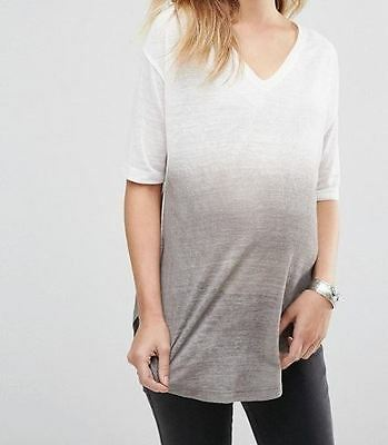 Asos Women's Maternity Spray Tunic Top (Loose fitting, mummy to be)