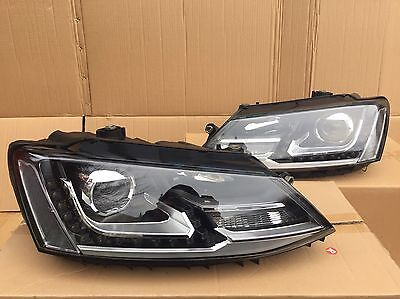 VW JettaI Front LED Projector Headlights 2010 - 2015 UK Stock