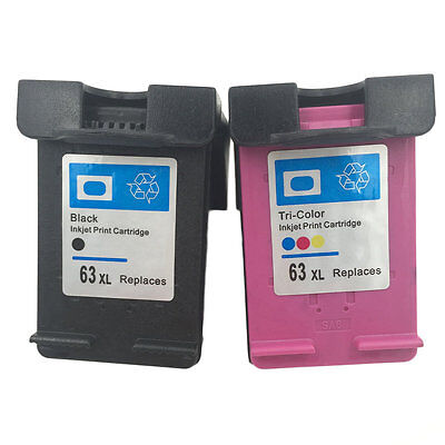 High quality Ink Cartridge for HP 63 XL HP 63 Officejet 2620 ENVY 4500 RE