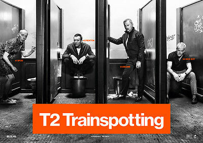 T2 Trainspotting 2 Poster Print Borderless Stunning Vibrant Sizes A1 A2 A3 A4