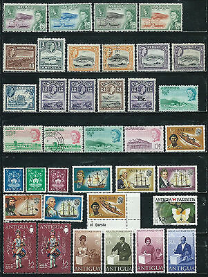 Antigua - 37 stamps mixed - Years 1962 to 1988