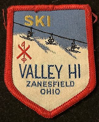VALLEY HI now MAD RIVER MOUNTAIN Skiing Patch OHIO OH Travel LOST NAME 1962-75