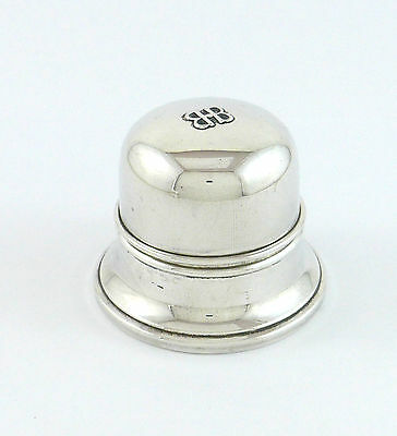 Beautiful Birks Sterling Silver Engagement Ring Box