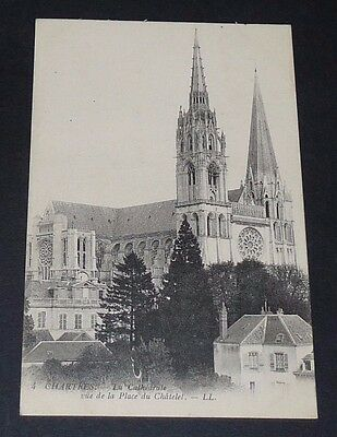 Cpa 1915 Carte Postale France Chartres Cathedrale