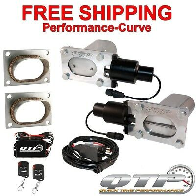 QTP Quick Time Performance Low Profile Electric Exhaust Cutout Kit - QTEC66-K2