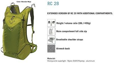 NEW Dynafit RC28 Yellow Backcountry Touring Ski Pack 28L Backpack Msrp$140