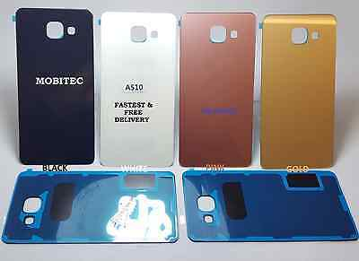 Replacement Rear Back Glass Battery Cover for Samsung Galaxy A5 2016 (A510F) UK
