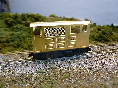 009  BOX CAB KIT Etched brass bodyshell. Easy to make starter kit