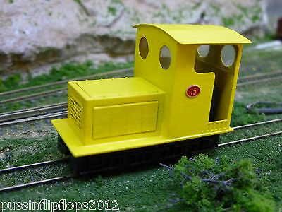 009 Narrow Gauge Diesel Loco Bodyshell for the Bachmann Plymouth. KIt 43F