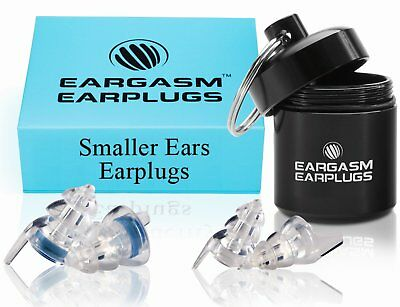 Eargasm Smaller Ears Earplugs: 2 Different Shell Sizes Included!