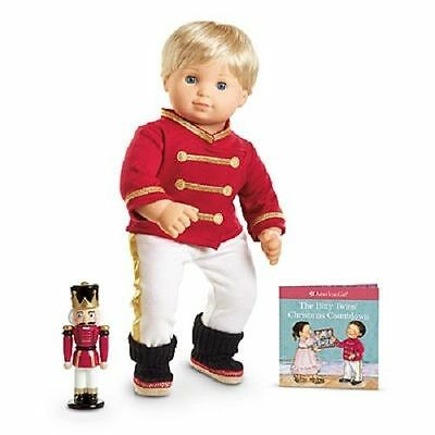 American Girl Bitty Twins Soldier Ballerina Pajamas Outfit With Book and Toy NIB