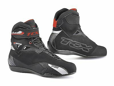 TCX Rush WP Black Mens Motorcycle Riding Boots Size 11/EU45