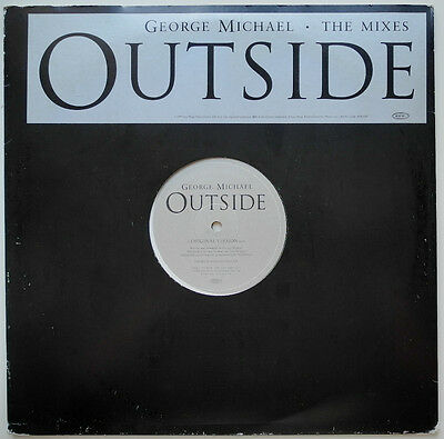 """12"""" Uk**george Michael - Outside (The Mixes) (Epic '98 / Promo)***24418"""