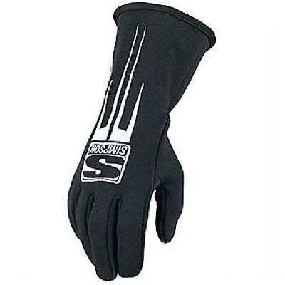 Simpson Safety 20800SK Predator Driving Gloves SFI 3.3/5 Rated (Black)
