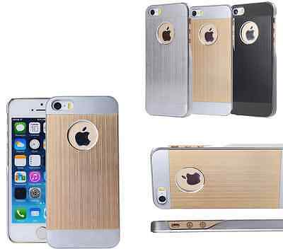 Wholesale Joblot of 33 Gold iPhone 5 5S Brushed Aluminium Cases Brand New