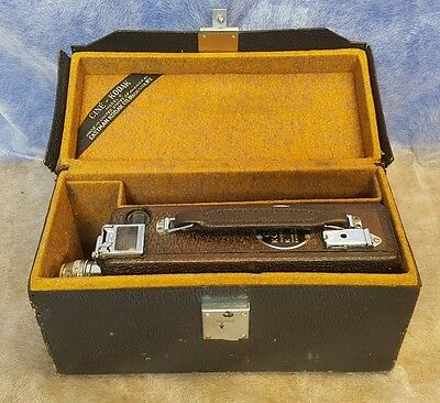 Cine Kodak Model K 16mm Film Movie Camera w Original Leather Case