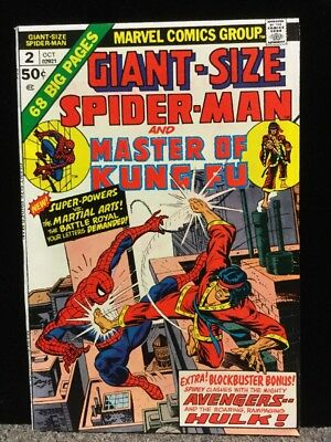 Marvel Comics - Bronze - Giant Size Spider-man and Master of Kung Fu