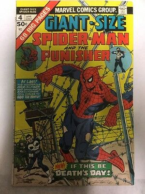 Marvel Comics - Bronze Age - Giant Size Spider-man and the Punisher No.4