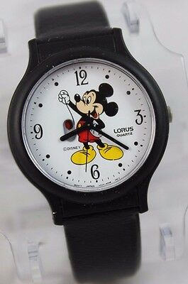 Vintage Disney Mickey Mouse with Balloon Lorus Quartz Watch - MINT Condition