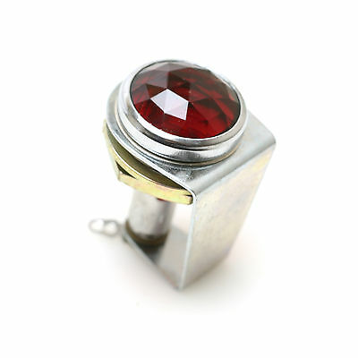 Dialco 502-3241-0431-302 Miniature Lamp Socket with Red Lens