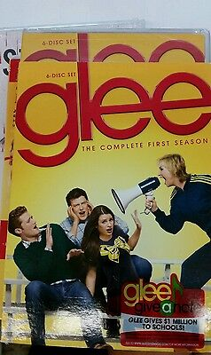 Glee: The Complete First Season (DVD, 2011, 6-Disc Set) NEW